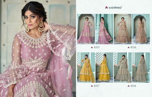 Aashirwad Creation Shaheen 8315-8318 Price - 11580