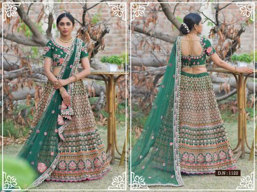 Peafowl Vol-76 Bridal Lehenga 1122 Price - 3533