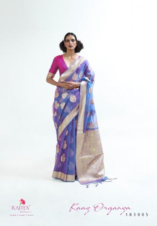 Raj Tex Kaaz Organza 183005 Price - 1725