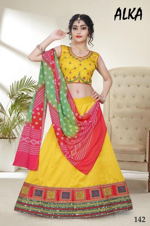 Alka Children Wear Navratri Collection 142 Price - 1549