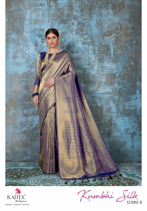 Rajtex Kumbhi Silk 123002 B Price - 1560