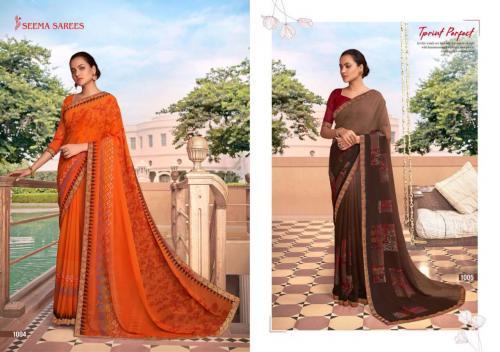 Seema Saree Soch 1004-1005 Price - 475