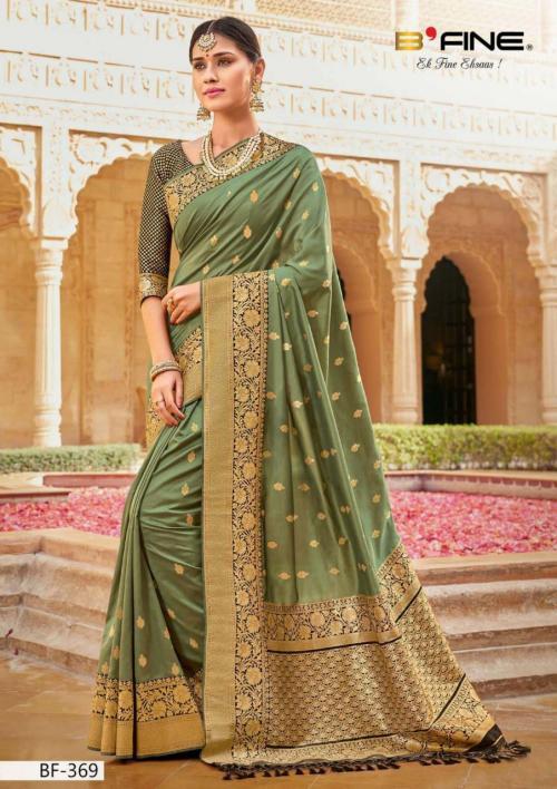 B Fine Saree Nazar 369 Price - 2045
