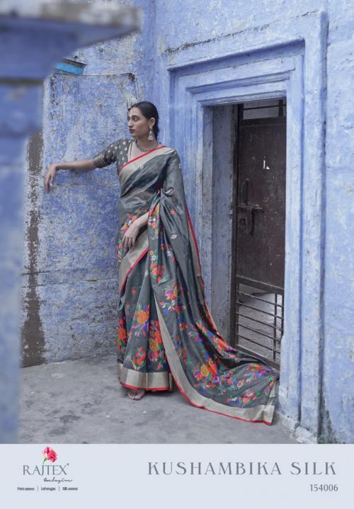 Rajtex Saree Kushambika Silk 154006 Price - 1880