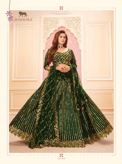 Senhora Dresses Sakhi Bridal Heritage Vol-7 2018 Colors