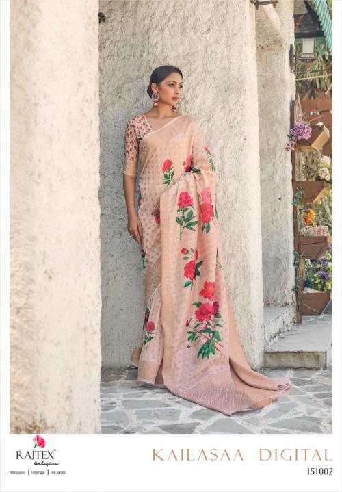 Rajtex Saree Kailasaa Digital 151002 Price - 1460