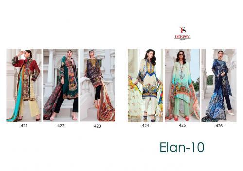 Deepsy Suits Elan 421-426 Price - 5394