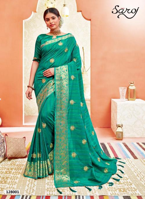 Saroj Saree Radhya 128001-128008 Series