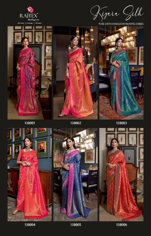 Rajtex Kiyara Silk 138001-138006 Price - 8970