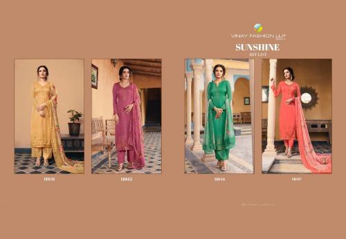 Vinay Fashion Kaseesh Sunshine Hit List 11044-11047 Price - Inquiry On Watsapp Number For Price
