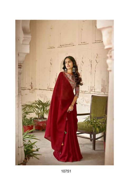 Triveni Saree Durga 10751-10758 Series
