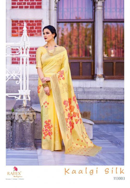 Rajtex Saree Kaalgi Silk 113003 Price - 1560