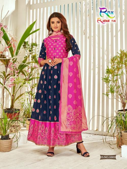 Rahul Nx Minakari Gown 1001-1008 Series