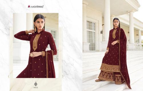 Aashirwad Creation Pankhudi 8453-8457 Series