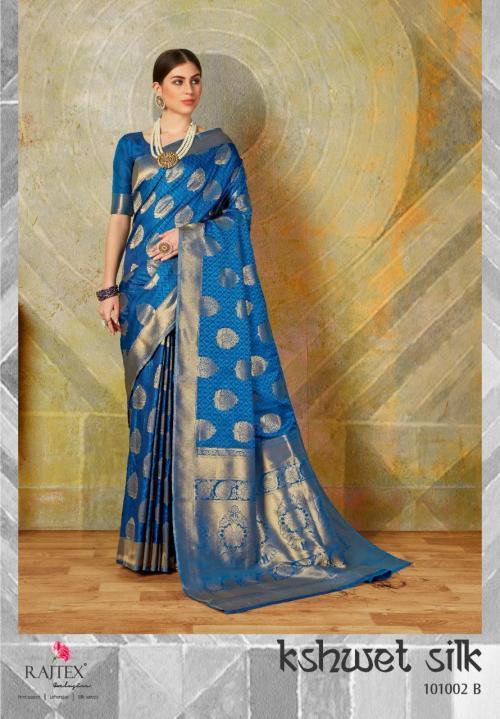 Rajtex Kshwet Silk 101002 B Price - 1460