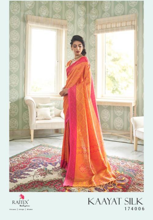 Rajtex Saree Kayaat Silk 174006 Price - 1695