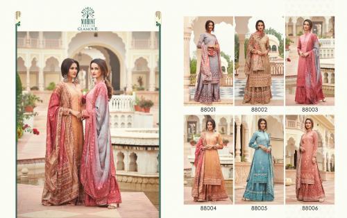 Mohini Fashion Glamour 88001-88006 Price - 9270