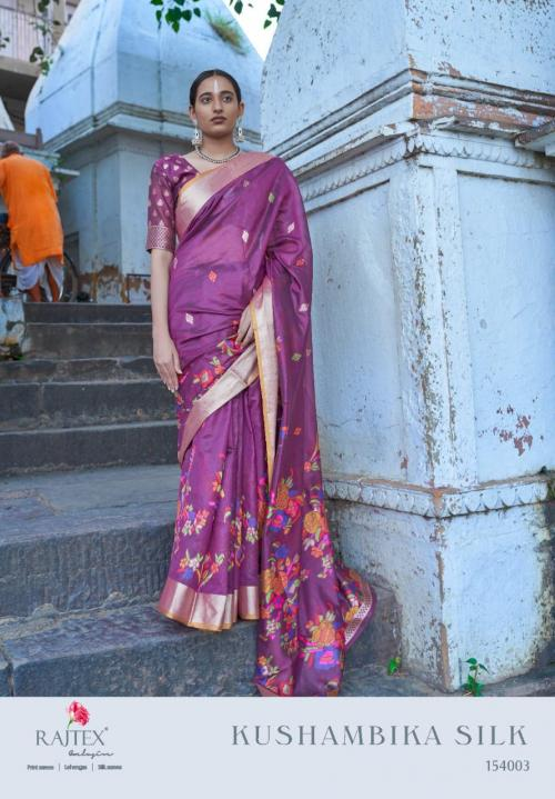Rajtex Saree Kushambika Silk 154003 Price - 1880