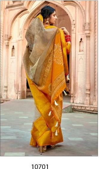 Triveni Saree Prem Ratan 10701-10708 Series