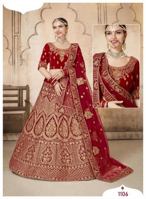 Shehnai Lehenga Bridal Heritage 1106 Price - 6695