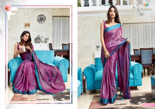 Triveni Saree Bella 25136 Price - 975