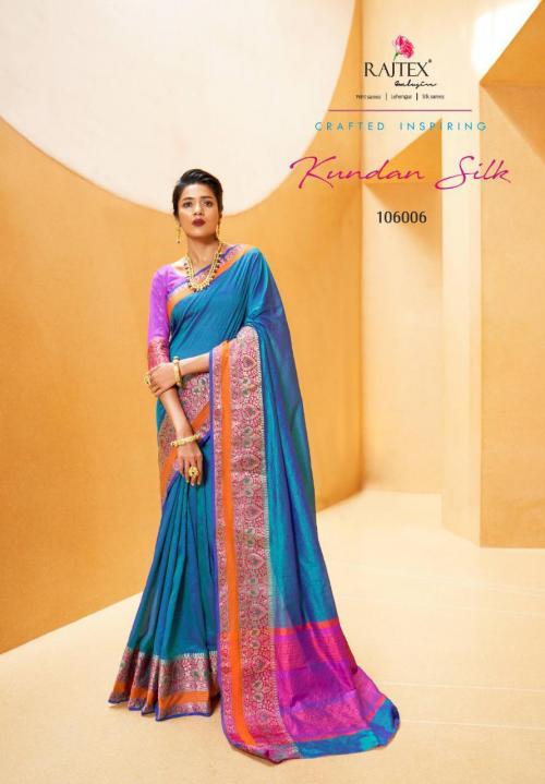 Rajtex Kundan Silk 106006 Price - 1135