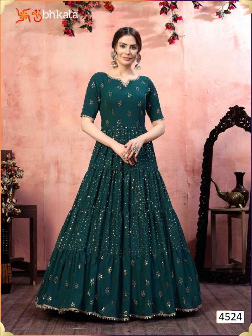Shubhkala Khusboo Flory 4524 Price - 1700