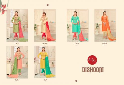 Lt Fabrics Nitya Dishoom 1001-1006 Price - 4470