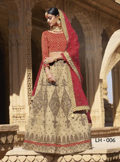Jodha Wedding Lehengas LH-6 Price - 4369