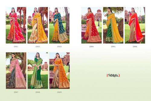 Tathastu Saree 2901-2909 Price - 33835