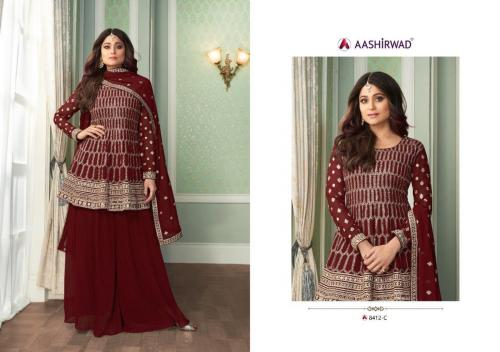 Aashirwad Creation Peplon 8412-C Price - 2495