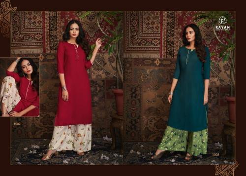 R Studio Rayan Kashvi 1002-1003 Price - 1198