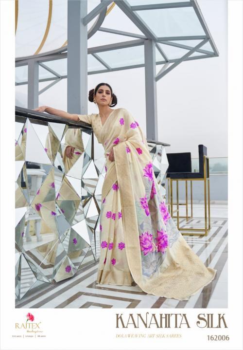 Rajtex Saree Kanahita Silk 162006 Price - 1560