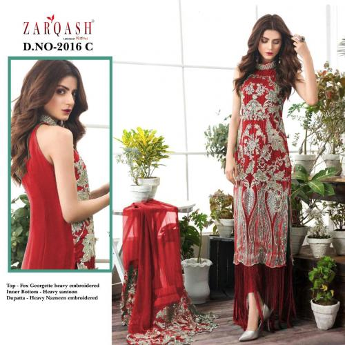 Khayyira Suits Zarqash Faiza 2016-C Price - 1250
