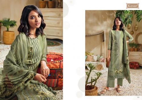 Kesar Trendz Zara 101-108 Series