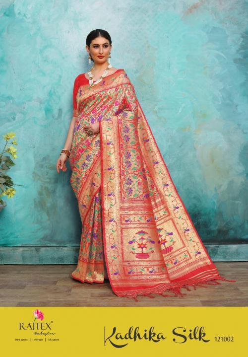 Rajtex Saree Kadhima Silk 121002 Price - 2195