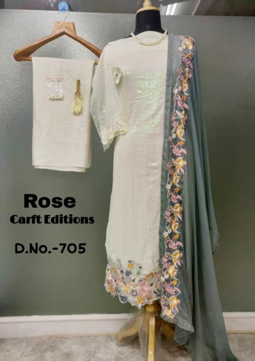 Shanaya Fashion Rose Craft Edition 705 Price - 1275