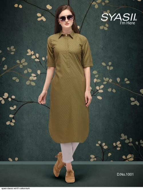 Syasii Designers Classic 1001 Price - 375