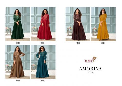Vamika Fashions Amorina 14001-14006 Price - 7470