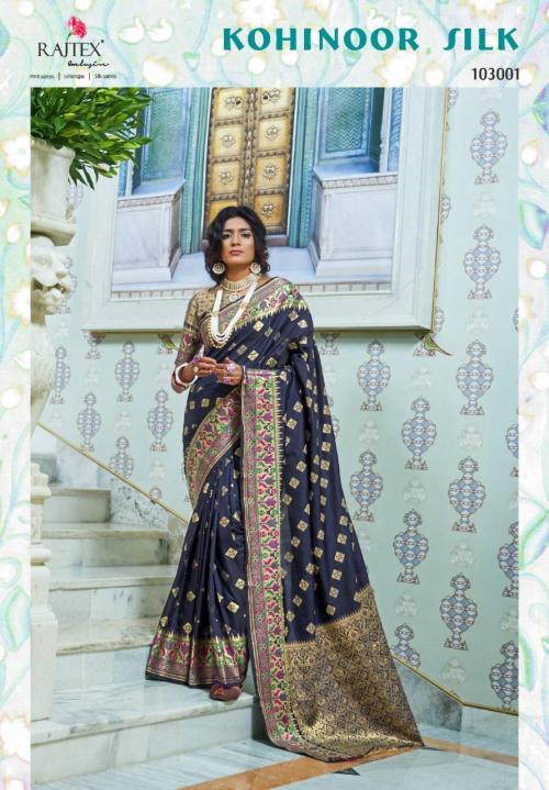 Rajtex Kohinoor Silk 103001-103009 Series