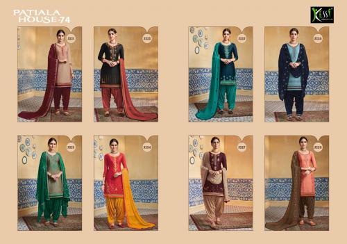 Kessi Fabric Patiala House 5221-5228 Price - 7192