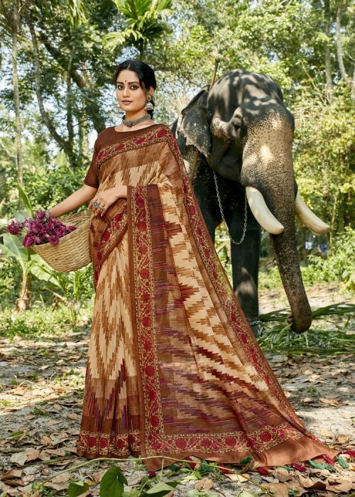 Triveni Saree Cocktail 11594 Price - 575