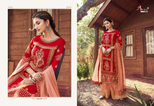 Shree Fabs Shehnai Bridal Collection Vol-24 6119-6123 Series