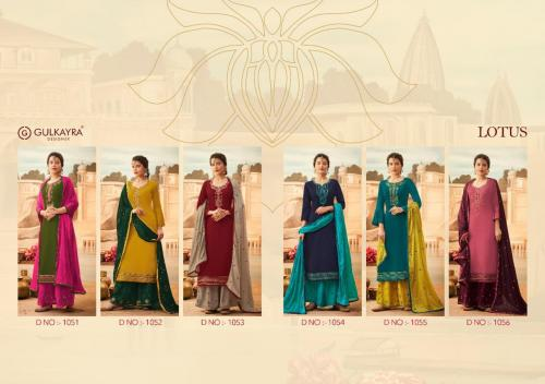 Aashirwad Creation Gulkayra Designer Lotus 1051-1056 Price - 7650