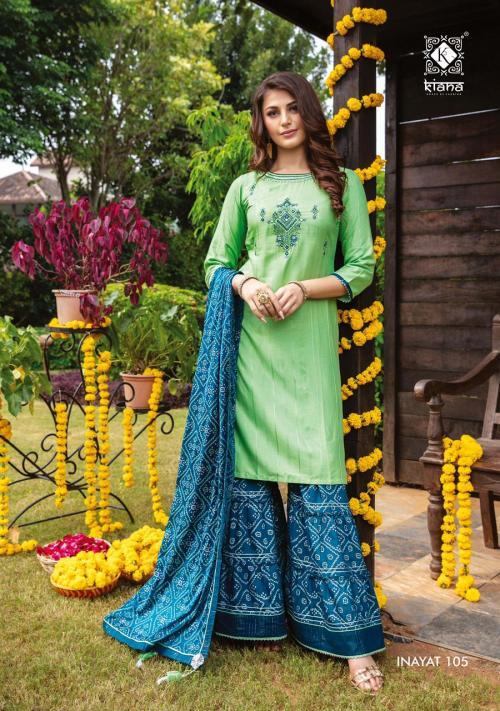 Kiana Fashion Inayat 105 Price - 1140