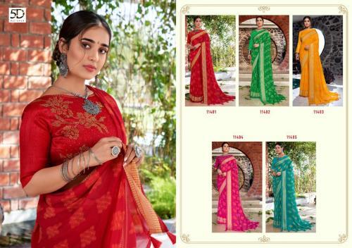 5D Designer Vansha 11401-11405 Price - 3525