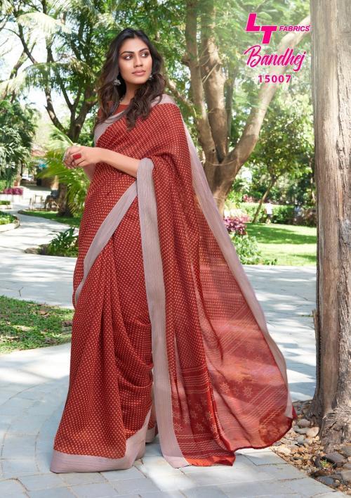 LT Fabrics Nitya Bandhej 15007 Price - 655