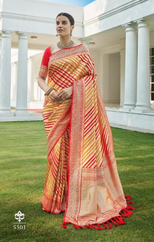 Rajyog Fabrics Ananya Silk 5501-5504 Series