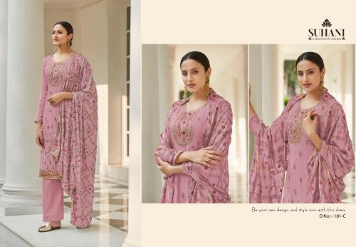 Mohini Fashion Suhani 101-C Price - 1945
