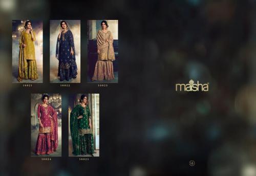 Maisha Maskeen 10021-10025 Price - 12975